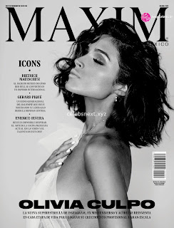 Olivia Culpo    in beautiful artistics s black and white huge  Celebs.in Exclusive 006