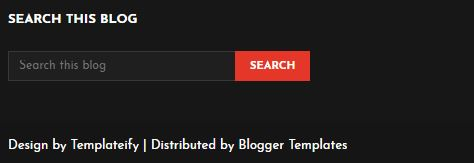 How to Remove Footer Credit / Copyrighted Mark  From Blogger Template without redirecting