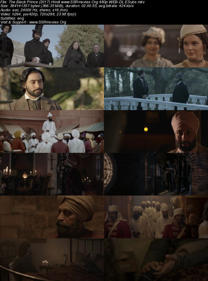 The Black Prince (2017) Hindi 480p WEB-DL 300MB