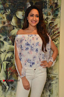 Actress Pragya Jaiswal Latest Pos in White Denim Jeans at Nakshatram Movie Teaser Launch  0067.JPG