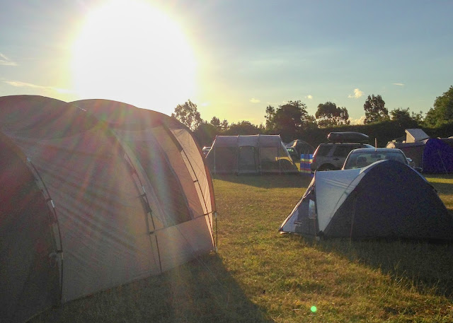 A range of tents making it hard to choose the right one for your family camping trip