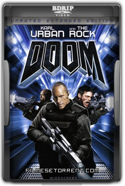 Doom A Porta do Inferno Torrent DVDRip Dublado 2005