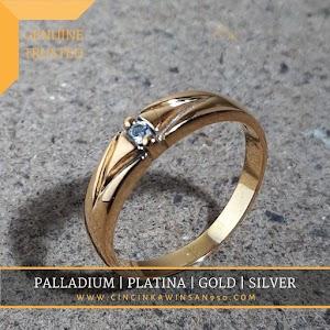 cincin kawin emas single 570