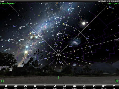 SkySafari 3 App Screen Capture