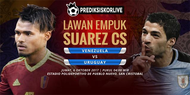 PREDIKSI Venezuela vs Uruguay: Lawan Empuk Suarez Cs