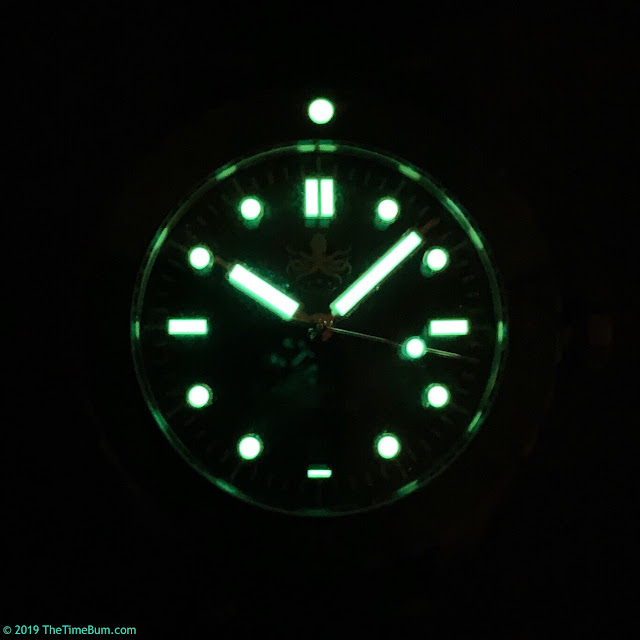 Phoibos Eagle Ray Bronze lume