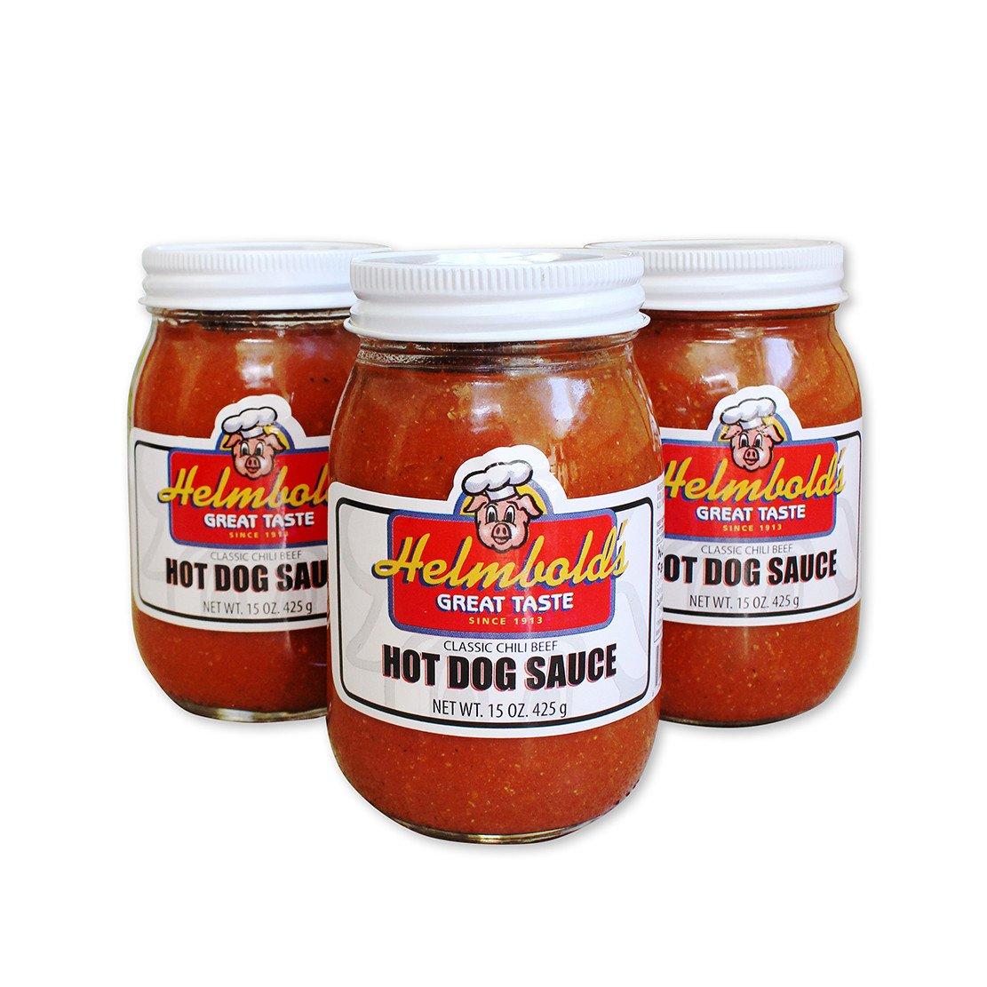 hot dog sauce helmbold 39 s hot dog sauce. Black Bedroom Furniture Sets. Home Design Ideas