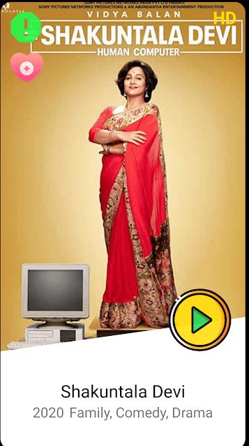 shakuntala devi watch free online