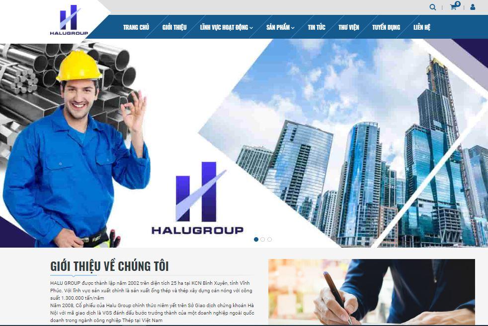 Chia sẻ Template blogspot vật liệu xây dựng