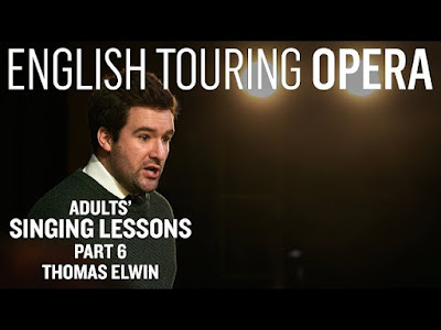 English Touring Opera: Adults Singing Lessons - Thomas Elwin