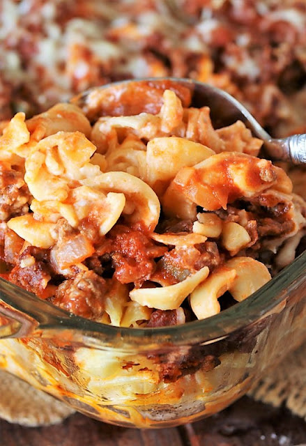 Ground Beef and Noodle Casserole Image
