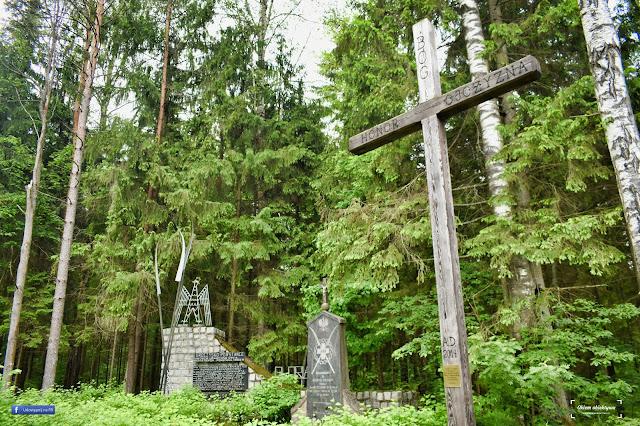 Uroczysko Powstańce w Puszczy Augustowskiej