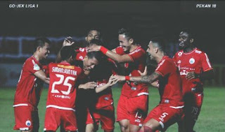 Persija vs Bhayangkara FC 1-0