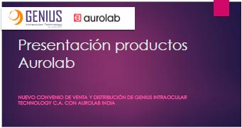 Productos Aurolab