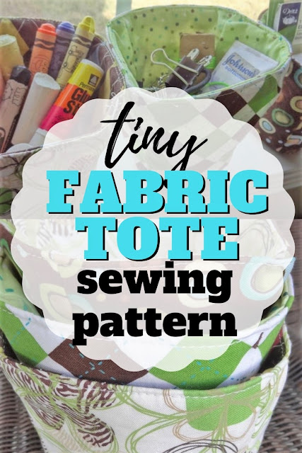 Learn how to make fabric bowls with this free sewing PDF pattern for nesting diy fabric bowls.