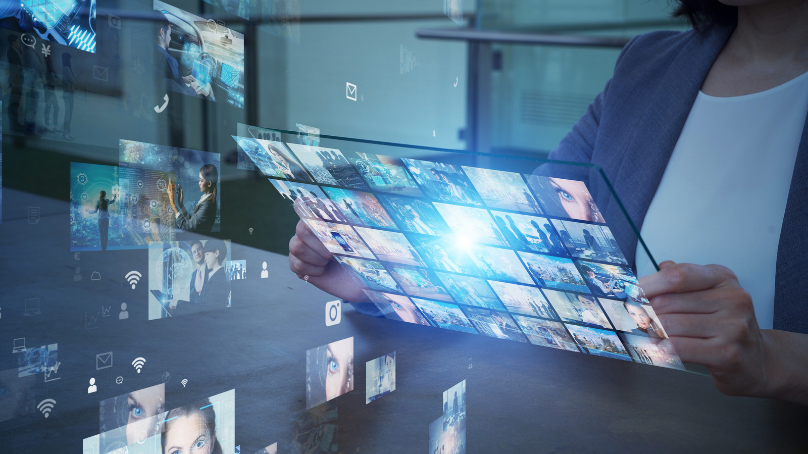 Today, visual content can be accessed through smartphones and laptops owing to the emergence of over the top (OTT) service providers such as Netflix