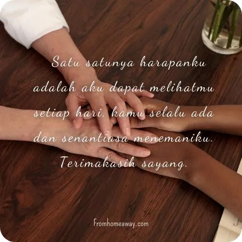 Kata cinta untuk suami