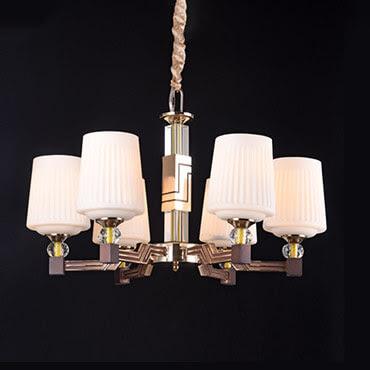 Có gì trong mẫu đèn chùm trang trí hiện đại?