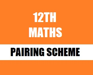 12th Class (Inter Part-2) Pairing Scheme (2021) of Mathematics - TALEEM 360