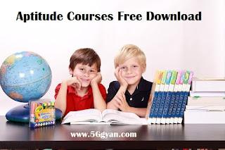 Aptitude Course free download