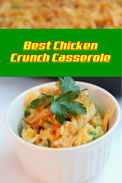 #Chicken #Crunch #Casserole