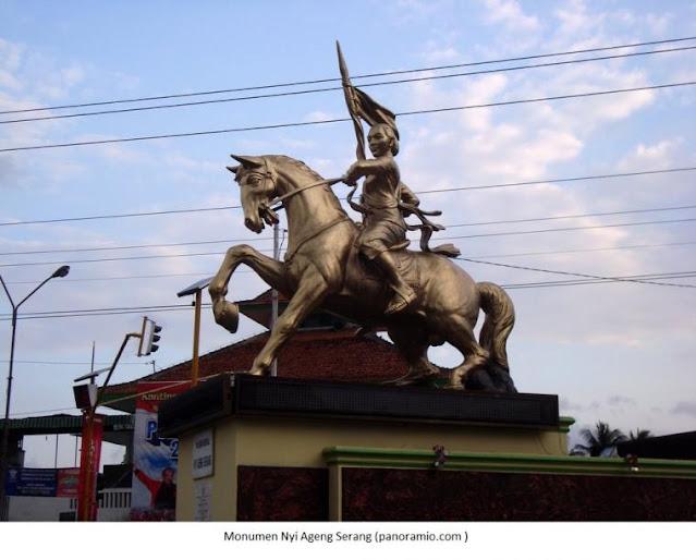 Monumen Nyi Ageng Serang di Kulonprogo