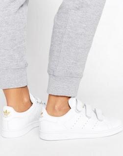 Adidas Original blanc doré - asos