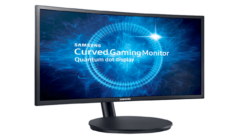 SAMSUNG Curved Gaming-Monitor 27 Zoll LC27FG70FQNXZA
