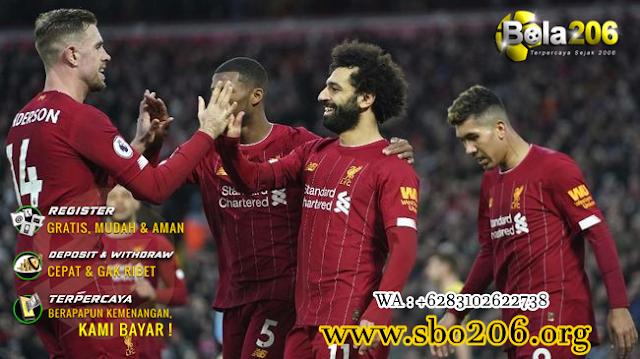 Liverpool Tak Terkalahkan Di Kandang