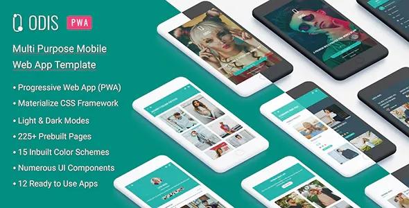 Best Multipurpose PWA Mobile App Template