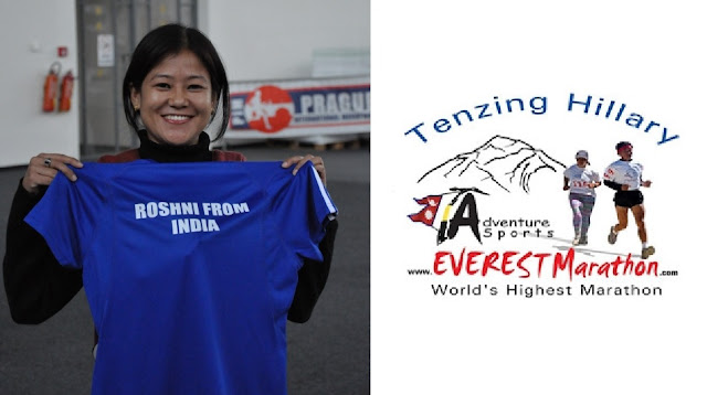 Roshni Rai to ‪‎Ignite‬ Tenzing Hillary Everest Marathon