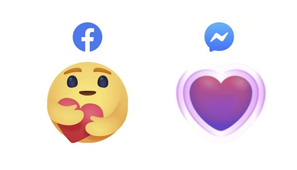 فيسبوك تضيف رموز تعبيري جديدة لإظهار أهتمامتهم لأصدقائهم وعائلاتهم خلال زمن كورونا