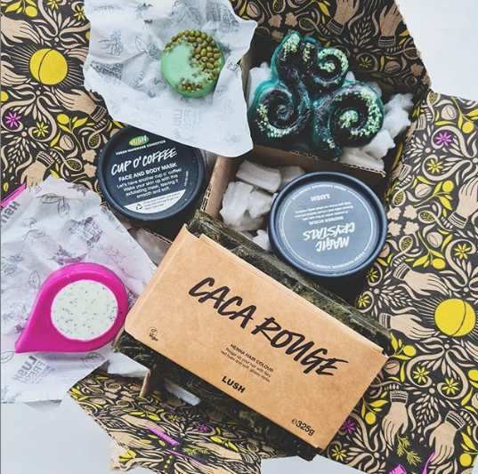 Mini-reviews from my latest Lush haul