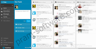 ScreenShot TweetDeck Latest UpdateTerbaru For PCDesktop