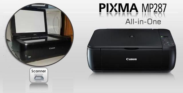 Cara Scan di Printer Canon MP287 Dengan Mudah