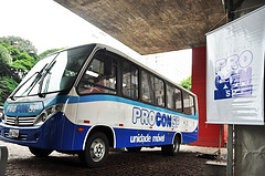 ônibus do Procon-SP