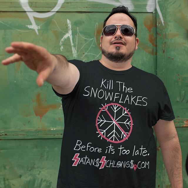 Kill The SNOWFLAKES plus size premium T-Shirt