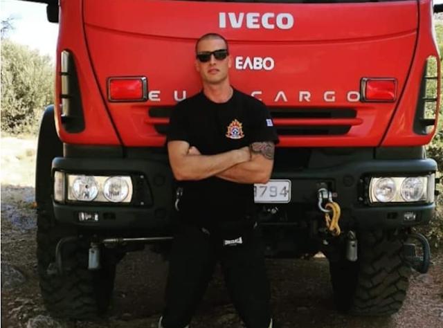 Θρήνος στην πυροσβεστική: 30χρονος πυροσβέστης έχασε τη ζωή του σε τροχαίο με τη μηχανή του