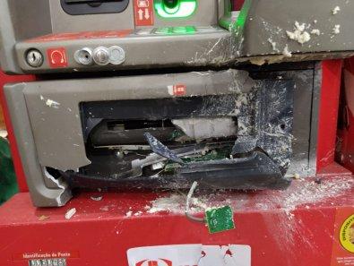 Bando tenta explodir caixa em mercado de Cuiabá
