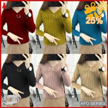 AFO597 Model Fashion V Neck Ring PJ Modis Murah BMGShop
