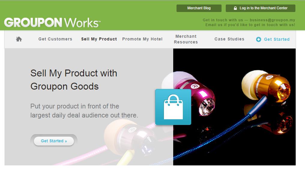 Malaysia online marketplace - Groupon