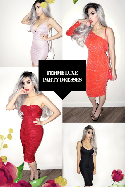 party dresses inspiration for christmas, new year and parties