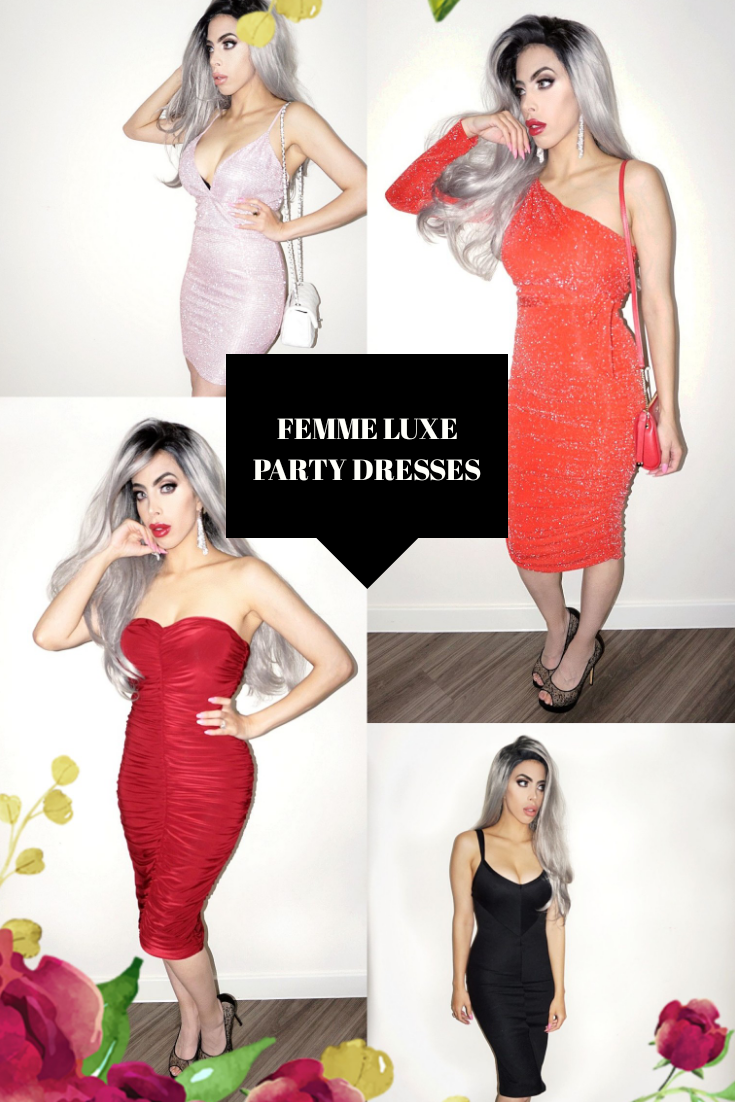 4 PERFECT PARTY DRESSES FOR THE FESTIVE SEASON