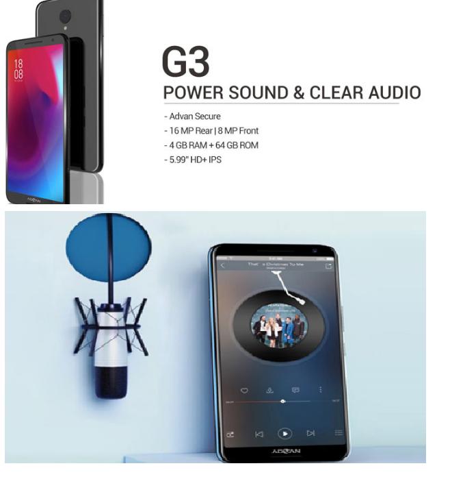 Advan G3 Hadir Ini Spesifikasi Dan Harganya Www Info Hp Com