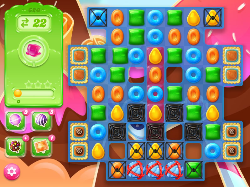 Candy Crush Jelly Saga level 620