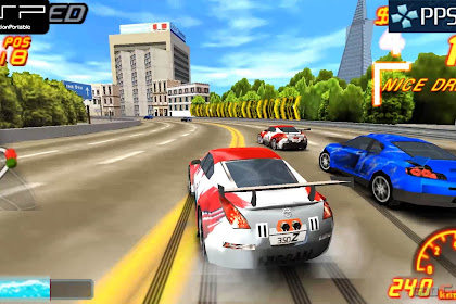 Download Game Asphalt Urban GT 2 PSP Android Full HD Terbaru 2017