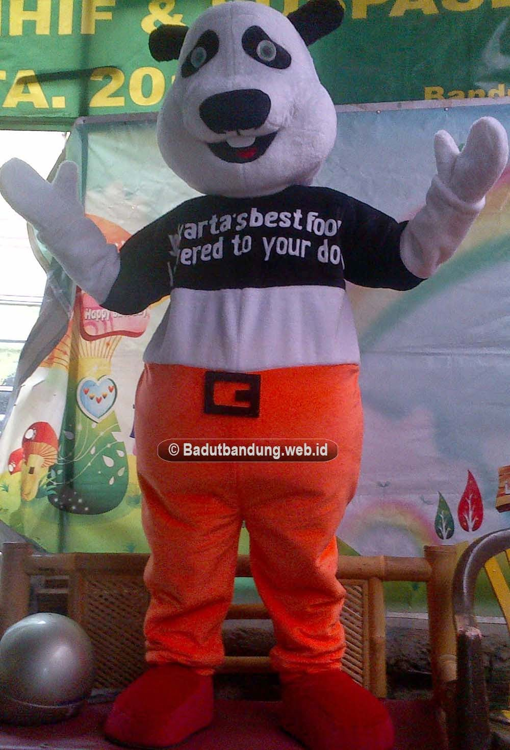 gambar kostum panda food badut maskot jakarta