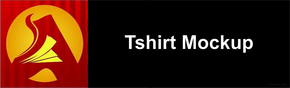 Free T-shirt Mock-ups untuk menampilkan desain kaos keren kamu jadi lebih nyata, download gratis mockups kaos untuk photoshop