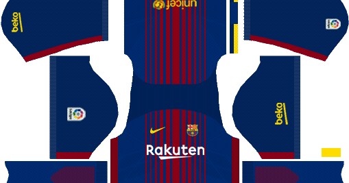 2d34a3d6788 Barcelona Nike Kits 2017/2018 - Dream League Soccer 2017 and FTS15 - Ihackshyz  DLS Kits,Games & More