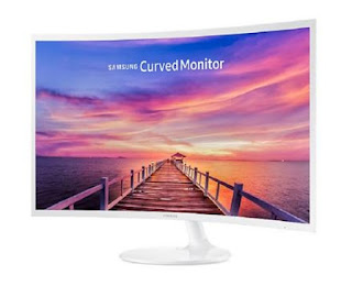 Monitor Samsung 32 Inch Curved FHD LC32F397FWE